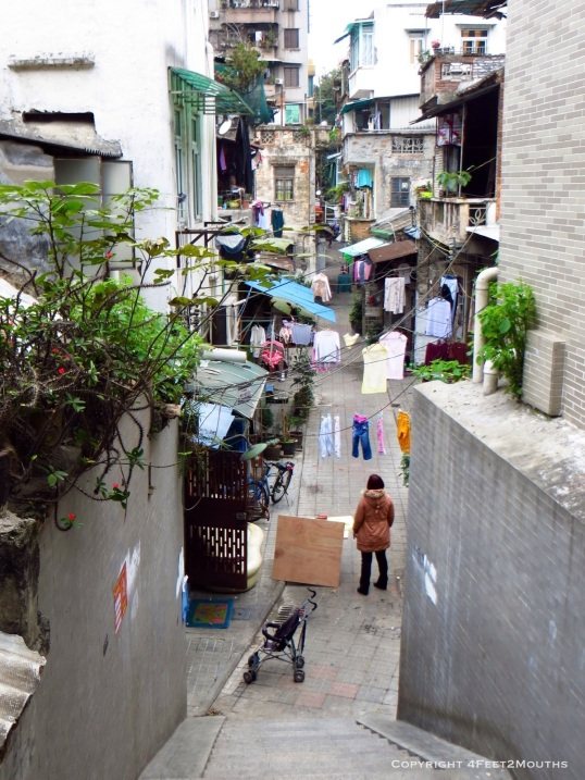 Guangzhou alleyway
