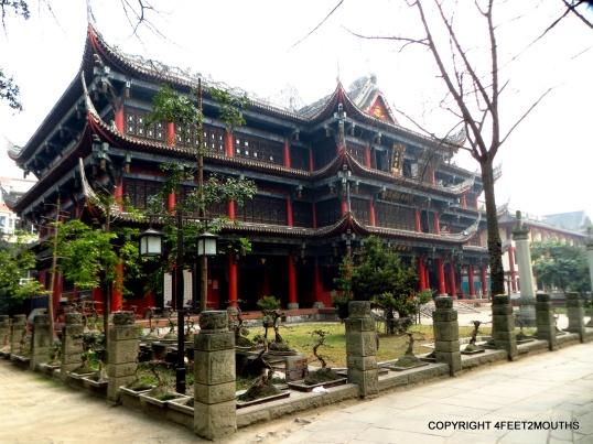 Wenshu Temple building