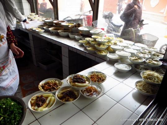 Sichuan snack shop