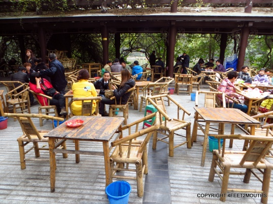 Heming Tea House in the People's Park