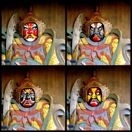Sichuan masks