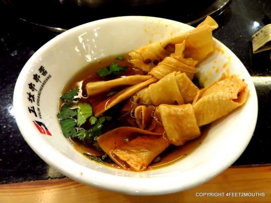 Hot pot tofu skin knots
