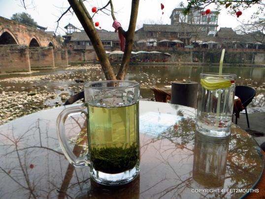 Riverside tea