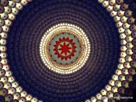 Dome light show