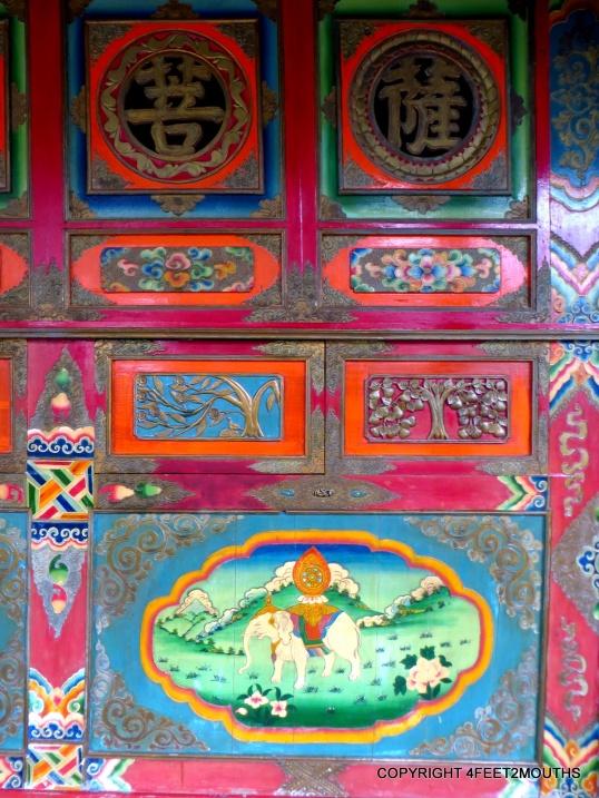 Tibetan style Shenshui Pavillion