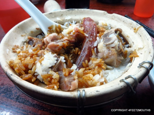 Pork and rice clay pot at Four Seasons