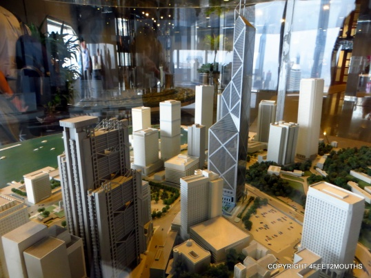 High-rise city model