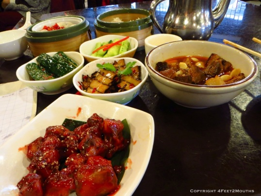 Hunan feast at Huogongdian