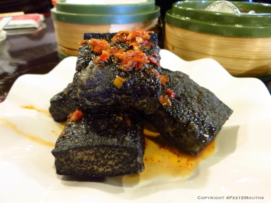 Crispy and fragrant stinky tofu