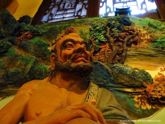 Arhat statue