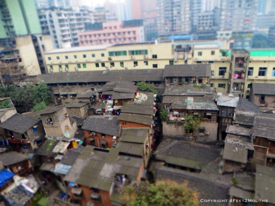 Historic Chongqing housing