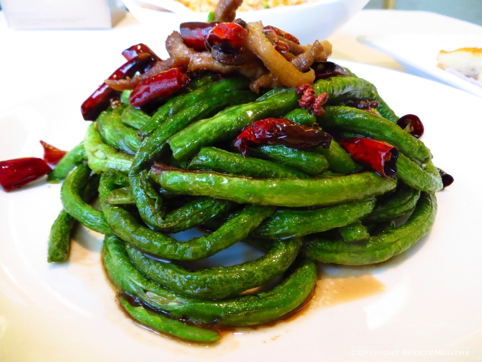 dry fried long beans easy sichuan dry fried green or sichuan dry fried ...