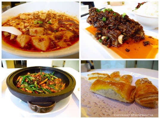 Ma po dofu, ribs, rabbit dry pot and pastry; all spicy and delicious at Shùnfēng 123