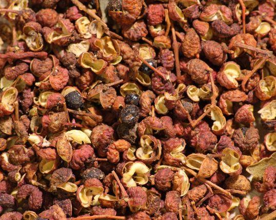 Sichuan peppercorns (photo credit: wikicommons)