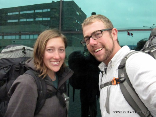 Carmen and I in May 2012 returning from Peru