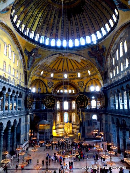 Hagia Sofia, most impressive building