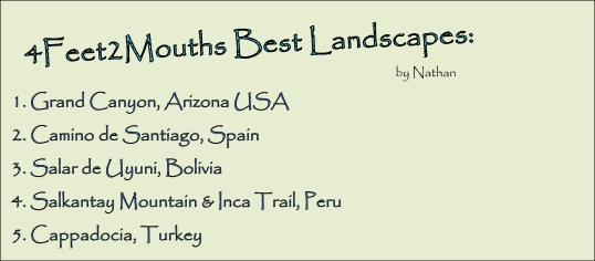 4FEET2MOUTHS Best Landscapes