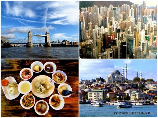 Best Big Cities: London, Hong Kong, Istanbul, Chengdu