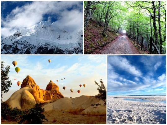 Best Landscapes: Salkantay, Camino de Santiago, Salar de Uyuni & Cappadocia