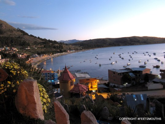 Splurge hotel overlooking Lake Titicaca - so worth it!
