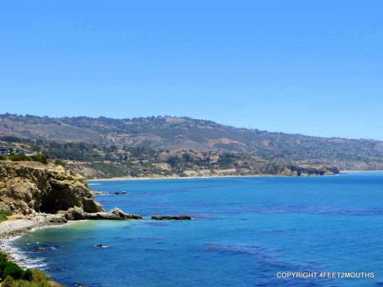 The Pacific Ocean seen from Palos Verdes