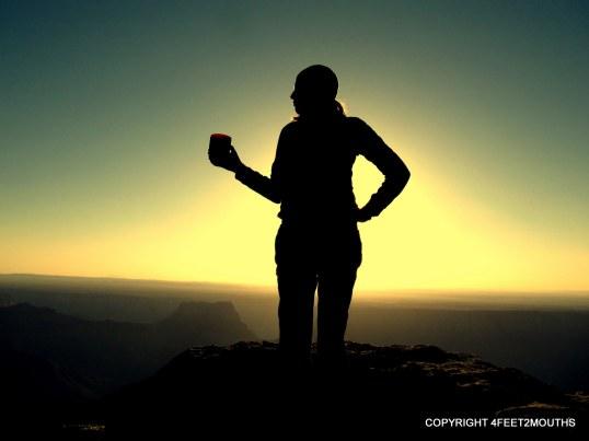 Carmen and a Grand Canyon Sunrise
