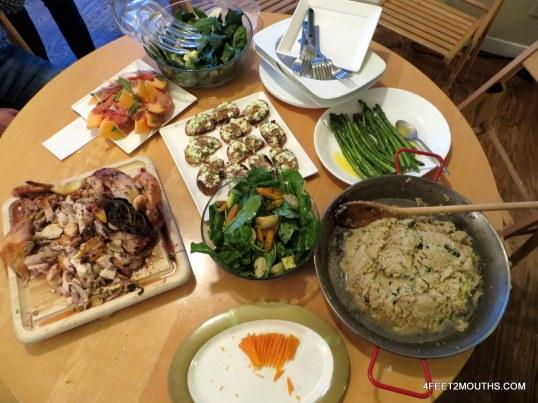 3 ingredient dinner party