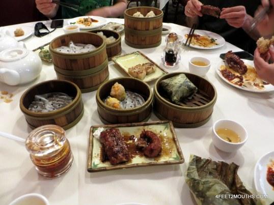 Dim sum at Hong Kong Lounge