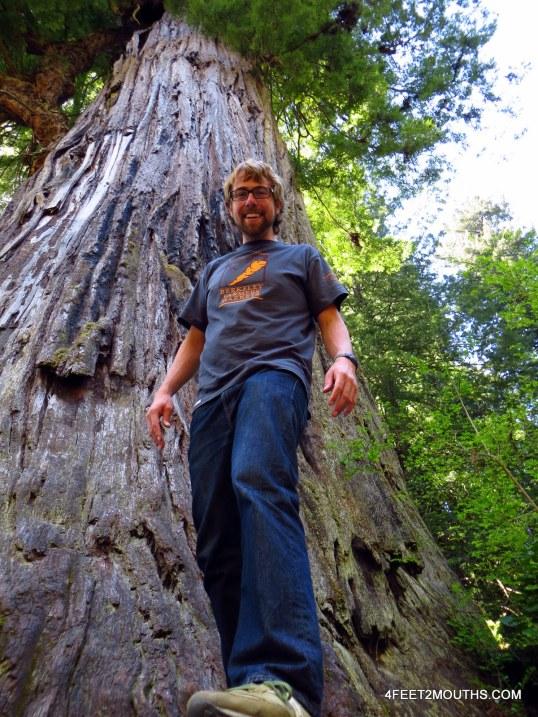 """Nathan and one """"Big Tree!"""