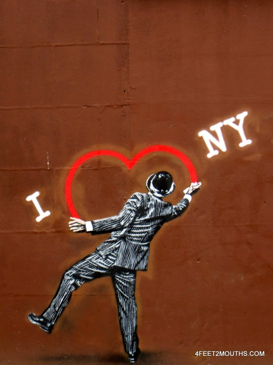 I heart NY from the Lower East Side