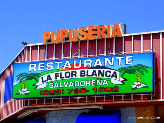 Pupuseria La Flor Blanca