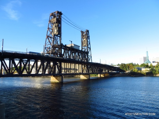Bridge over the Willamette River