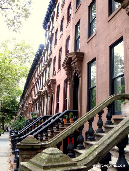 We broadened our search to include Brooklyn brownstones.