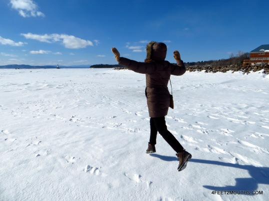 Walking on (frozen) water!