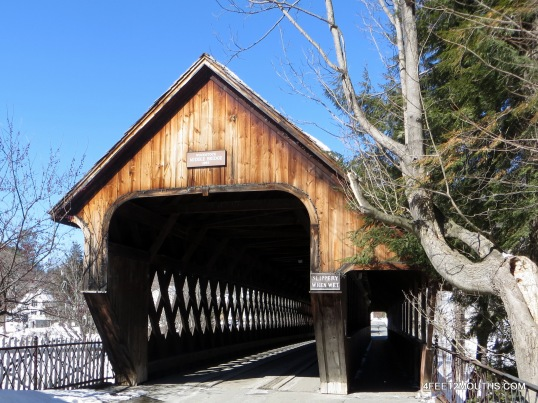 Covered bridge near Woodstock, VT