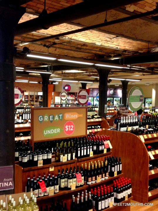 Astor Wine & Spirits - our local booze source