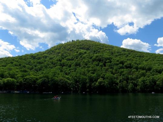Bear Mountain from Lake Hessian