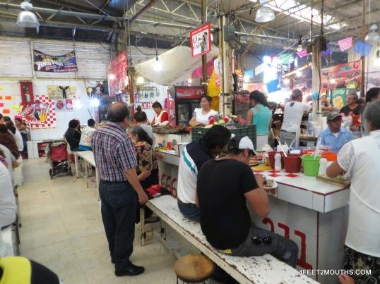 Market stalls of Xochimilco