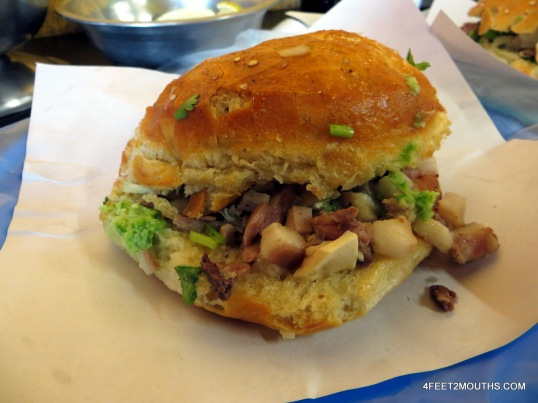 Pork cemita from Cemitas América