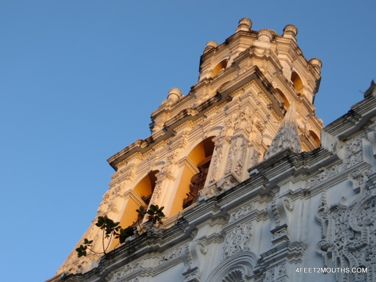One of Puebla's many churches