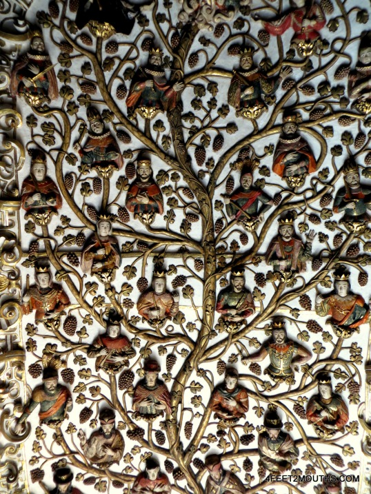 The Tree of Life inside the monastery